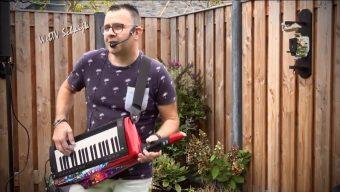 One man band Keytar en Zang