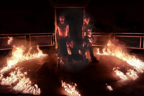 De Vlammendansers Vuurshows (1)