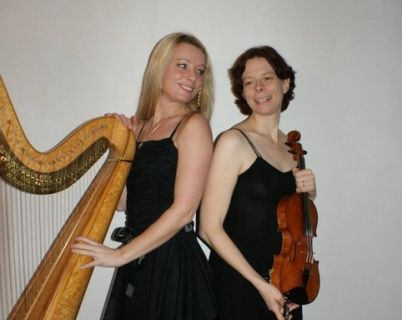 duo harp en viool-foto 4