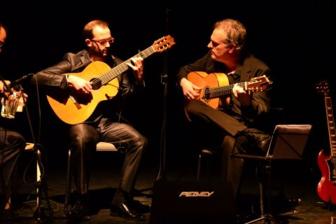 Gitarist Flamenco en Klassiek en gitaarduo