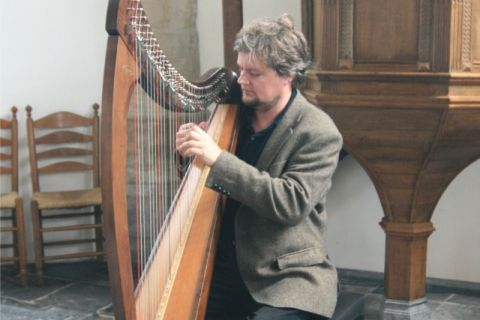 Veelzijdige Harpist voor zorginstellingen