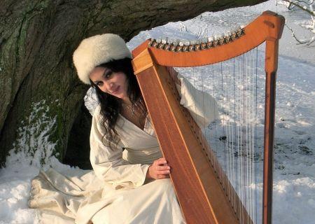 Harpiste en Zangeres