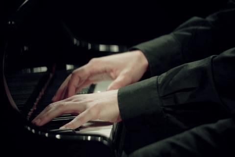 Klassiek pianist Alfons (2)