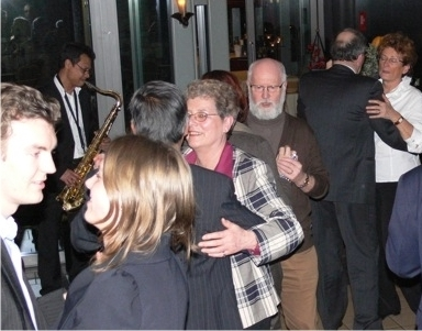 One-man Band Saxofonist uit het zuiden