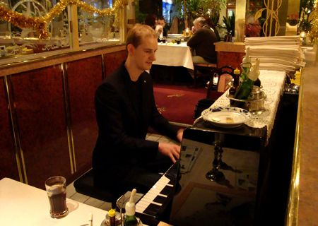 Pianist Sebas