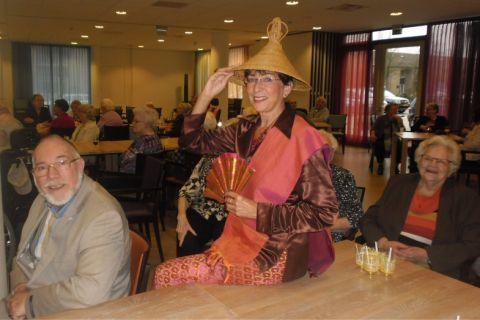 Een gezellige Indische middag met Tante Melien