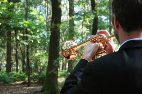 Uitvaart Trompetist
